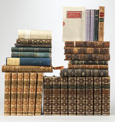 Decorative Bindings, Sets, Thirty-two Volumes, Groups of Sets and Single Volumes.