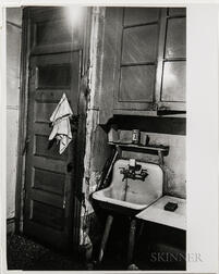 Walker Evans (American, 1903-1975)  Two Interior Views, Made for the Fortune Magazine Article People and Places in Trouble (Published