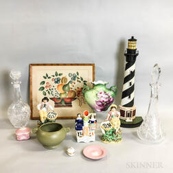 Twelve Decorative Items