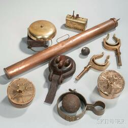 Collection of Nautical Items or Elements