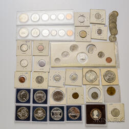 Group of Canadian Coins