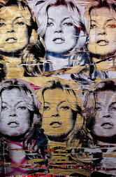 After Mr. Brainwash (French, b. 1966)      Kate Moss   Poster