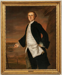 Joseph Blackburn (Massachusetts/New Hampshire/United Kingdom, d. 1778), Portrait of David Mumford (1730-1807), New London, Connecticut