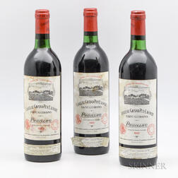 Chateau Grand Puy Lacoste 1982, 3 bottles