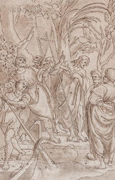 Italian School, 16th Century    John the Baptist Preaching