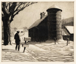 Martin Lewis (American, 1881-1962)      R.F.D.