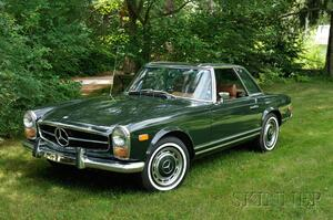 Sold for: $32,588 - *1969 Mercedes Benz 280SL Coupe Roadster