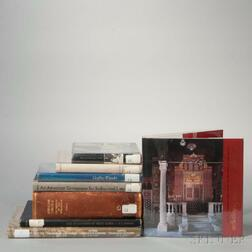 Eight Volumes Relating to Synagogue Architecture