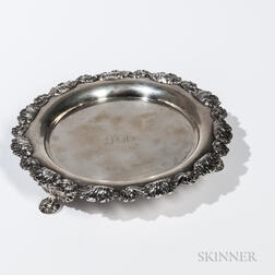 Fletcher & Gardiner Coin Silver Card Tray
