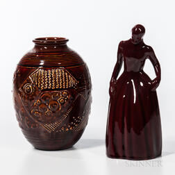 Two Pieces of Rookwood Pottery