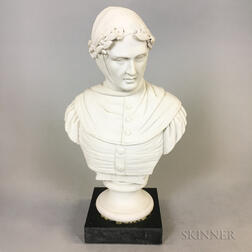 Parian Bust of Petrarch