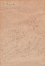 European School, 19th Century      Pieta with Angels