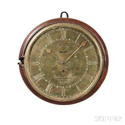 Parkinson & Frodsham Eight-day Ship's Bulkhead Dial Clock
