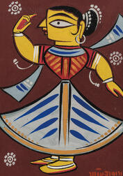 Jamini Roy (Indian, 1887-1972)      Dancer
