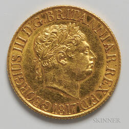 1817 British Gold Sovereign