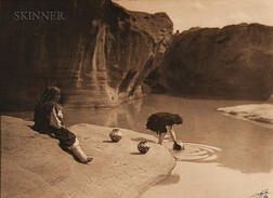 Edward Sheriff Curtis (American, 1868-1952)      The Old Well of Acoma