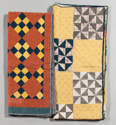 Two Hand-stitched Quilts