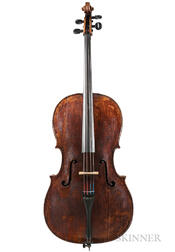 German Violoncello, Early 19th Century