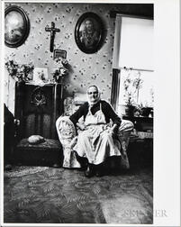 Walker Evans (American, 1903-1975)  Woman in Her Living Room, Made for the Fortune Magazine Article People and Places in Trouble (Pub