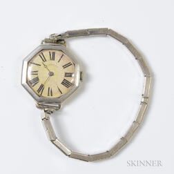 Tiffany & Co. Art Deco 14kt Bicolor Gold Lady's Wristwatch
