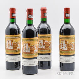 Chateau Ducru Beaucaillou 1986, 4 bottles