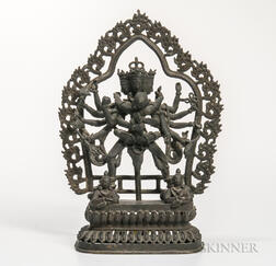 Bronze Figure of Chakrasamvara