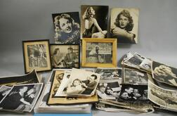Large Collection of Mostly Hollywood and Show Business Photographs