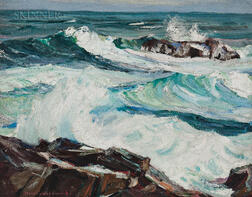 Stanley Wingate Woodward (American, 1890-1970)      Incoming Tide