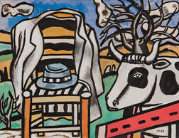 After Fernand Léger (French, 1881-1955)      Contrastes