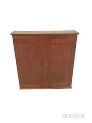 Red-stained Cherry Cupboard