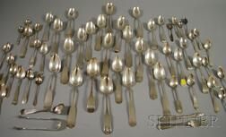Group of Coin and Sterling Silver Flatware
