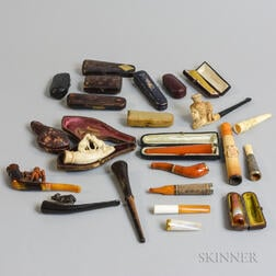 Group of Cased Pipes