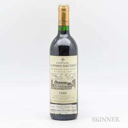 Chateau La Mission Haut Brion 1989, 1 bottle