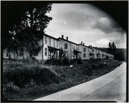 Walker Evans (American, 1903-1975)       Company Houses for Tannery Workers, Gormania, West Virginia
