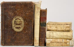Six Early Printed Books, Continental and English.
