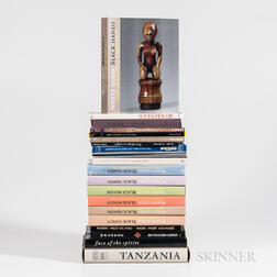 Collection of African Art Books
