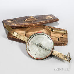 Early Surveyor's Compass Attributed to Dod