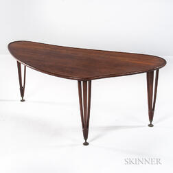 Triangular BC Mobler Coffee Table