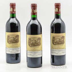 Chateau Lafite Rothschild 1986, 3 bottles