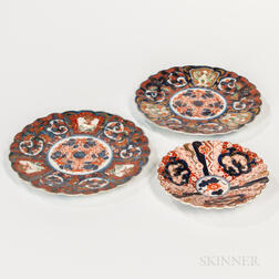 Three Imari Dishes