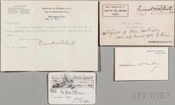 McKinley, William (1843-1901) Signed White House Card, c. 1900.