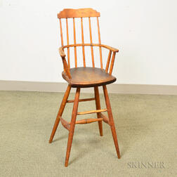 Bamboo-turned Windsor High Chair