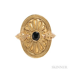 High-karat Gold Ring