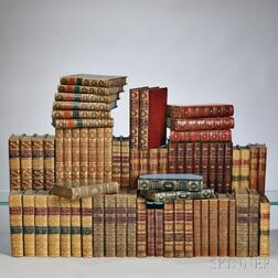 Decorative Bindings, Sets, Approximately Sixty-eight Volumes.