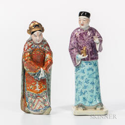 Two Ceramic Figures