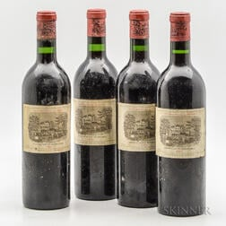 Chateau Lafite Rothschild 1961, 4 bottles