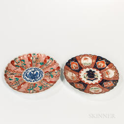 Two Imari Dishes