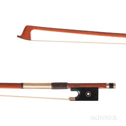 Gold-mounted Viola Bow, Jon Vanderhorst