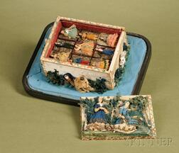 Cloth Covered and Doll-mounted Casket