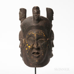 Bangwa Royal Society Helmet Mask